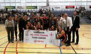 Finalistes Pré-Open Féminin 2019