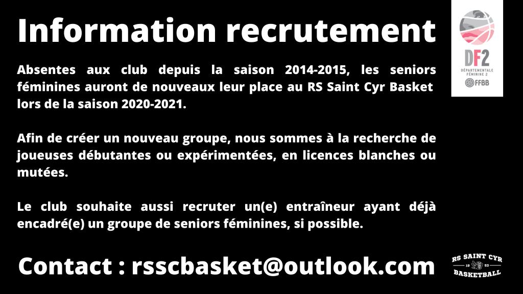 Information recrutement
