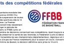 Arrêts des compétitions fédérales