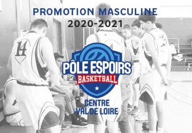 Promotion 2020-2021 Pôle Masculin